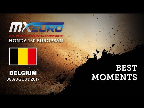 Honda EMX150 Race1 Best Moments - FIAT Professional MXGP of Belgium 2017
