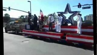 № 1560 США Парад в центре Орландо Флорида Ветераны 2011