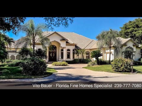 Vito Bauer - Luxury Homes - Call 239.777.7080 - 2355 Alexander Palm Dr.