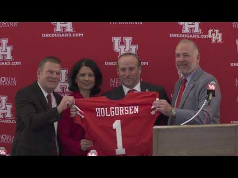 Houston Football Head Coach Dana Holgorsen Press Conference