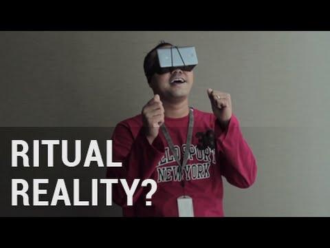 Reaksi 'NORAK' Orang yang Pertama Kali Mencoba (VR) Virtual Reality