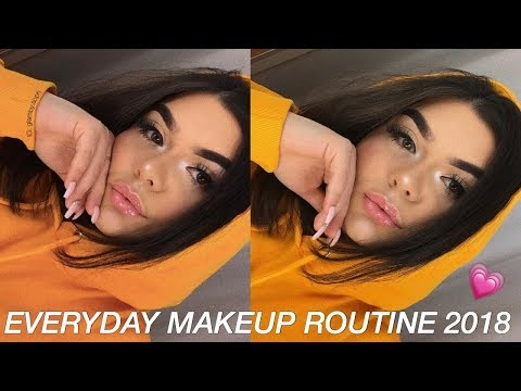 everyday makeup 2018 (full coverage for acne/scarring) ♡ glam by soph