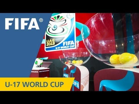 REPLAY: OFFICIAL DRAW - FIFA U-17 World Cup UAE 2013