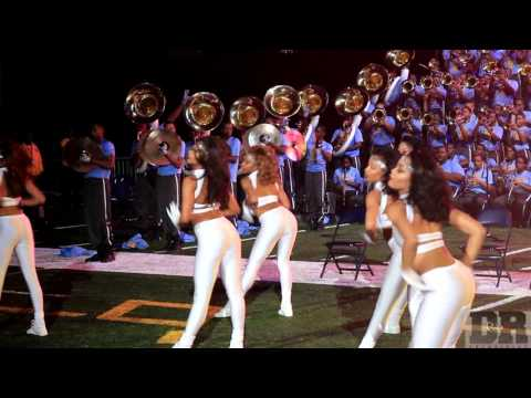Southern University Dancing Doll Highlights @ Bayou Classic Battle of The Bands 2015