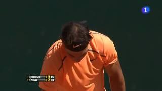 Rafael Nadal vs Novak Djokovic MATCH POINT - Montecarlo 2012 Final
