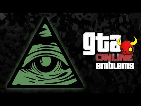 GTA V - ILLUMINATI  - Custom Crew Emblem Tutorial ( Grand Theft Auto 5 ) Screetch2009