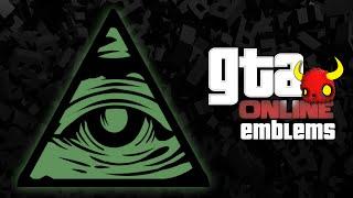 GTA V - ILLUMINATI  - Custom Crew Emblem Tutorial ( Grand Theft Auto 5 ) Screetch2009 Mp3