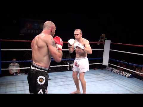 Anthony Richardson (Warrior Gym) v Gary Edwards (TMAS) 80 kg ISKA British title