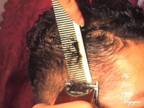 fade cut curly hair