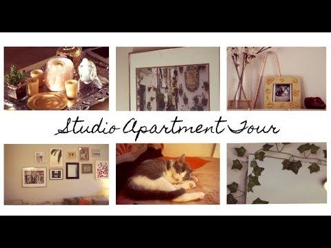 Studio Apartment Tour 2018