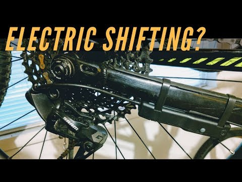 Electric Mountain Bike Shifting | Archer Components D1x Electric Shifter