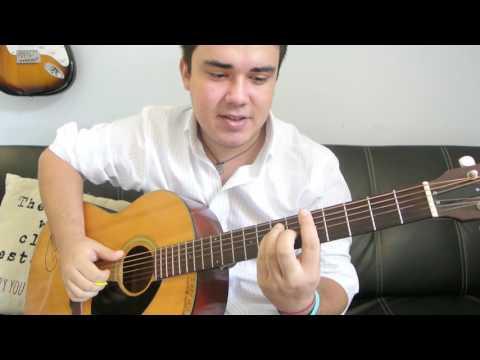 "Jesse McCartney - ""Beautiful Soul"" How to Play Guitar (Easy!! Guitar Tutorial!!)"