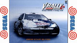 V-Rally 2 Expert Edition - SEGA Dreamcast Gameplay Sample HD - Redream Emulator