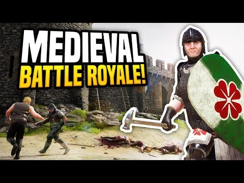 MEDIEVAL BATTLE ROYALE - Mordhau Gameplay | First Medieval Win?!