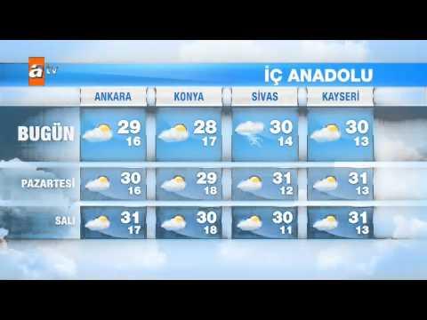 Hava Durumu (13-15 Eylül) - atv