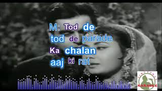 Do sitaron ka zameen Hindi karaoke for Male singers