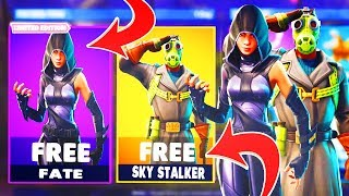Nouveau SKY STALKER Skin dans Fortnite Battle Royale!! Nouveau gameplay Sky Stalker à Fortnite!!