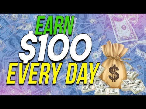EARN $100 a Day With ONLY 15 MIN Work Daily (MAKE MONEY ONLINE)