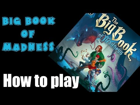 Big Book of Madness (boardgame) - How to play