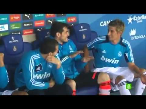 Coentrao went to bench (Real Madrid funny)