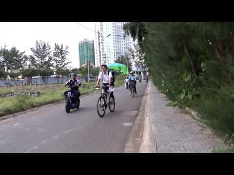 Viet Nam Travel - Morning Walk in Vung Tau city, Viet Nam 2016
