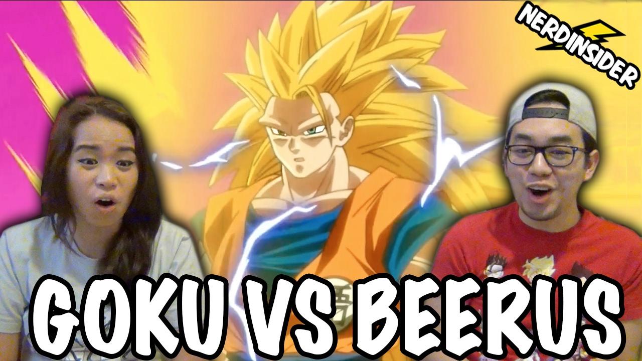 Download DRAGON BALL SUPER English Dub Episode 5 Goku VS Beerus REACTION & REVIEW