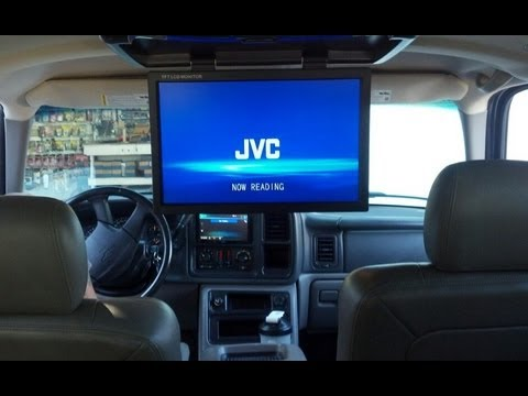ps  chevy suv   lcd screen youtube