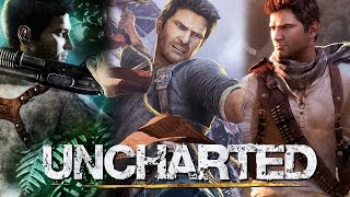 Uncharted The Complete Series Walkthrough (Drake's Fortune, Among Thieves, Drake's Deception)