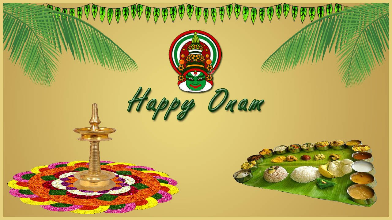 How To Design Onam Greeting Card In Photoshop In Malayalam Youtube