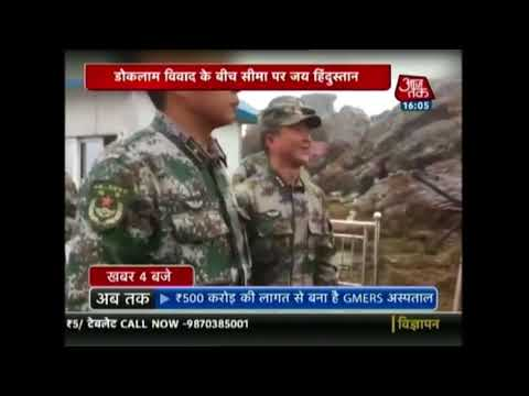 Defence Minister Greets Chinese Soldier At Border In Nathula, Teaches Them How To Say Namaste