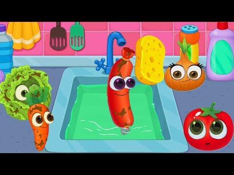 Game Masak Masakan Anak Kecil - Permainan Masak Menyenangkan   Masak Sayur Masak Buah