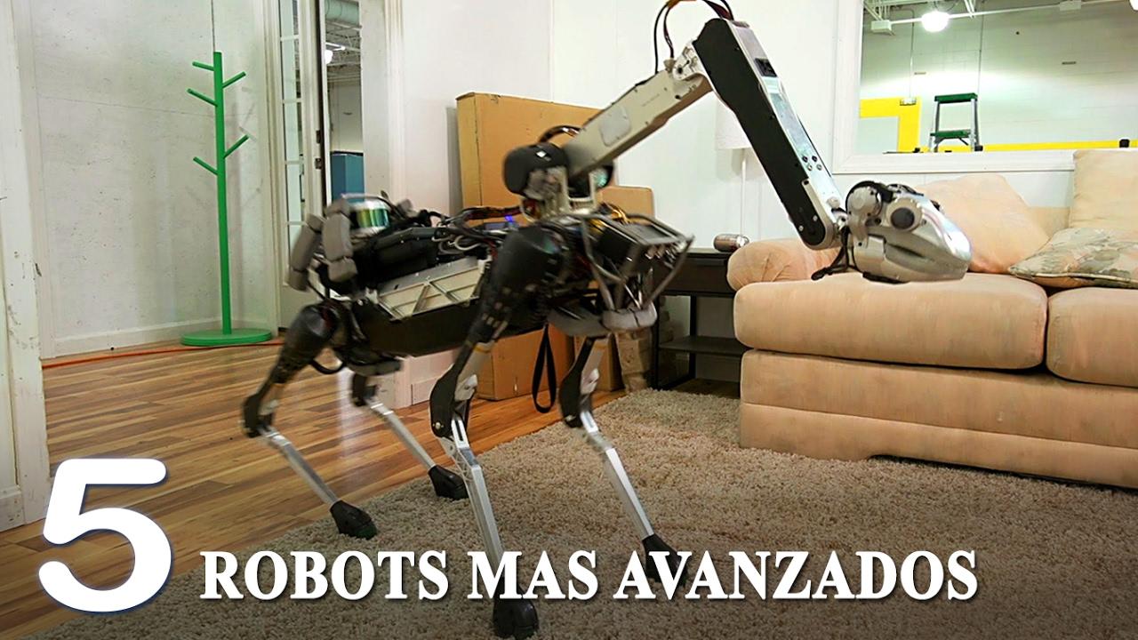 Robots mas avanzados del mundo 2017 tecnologia del - Robot que limpia el piso ...
