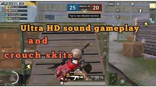 Pubg 0.15 update | Ultra HD sound game play | TDM crouch skits