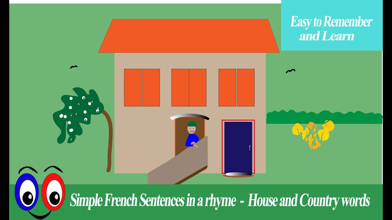 Ma Maison My House Rhyme In French Youtube