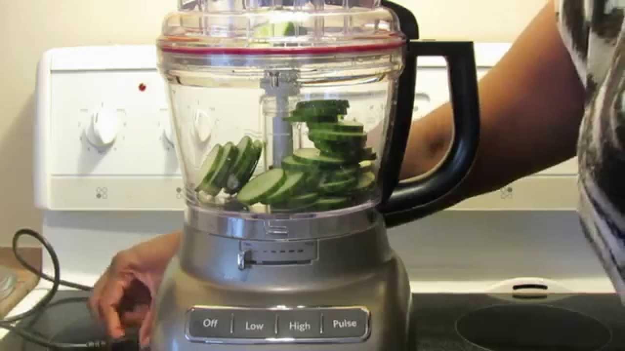 13 Cup Kitchenaid Food Processor Kfp First Use
