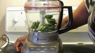 13 cup KitchenAid food processor KFP1333 First Use & review (Part 1)