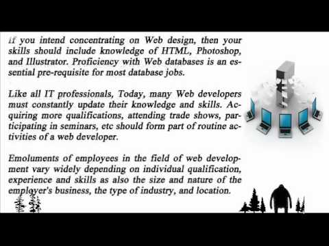 Benefits of employment in the field of web development.wmv