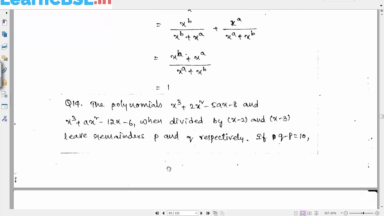 Solved CBSE Sample Paper 4 for Class 9 Maths | Important Questions for  Class 9 Maths