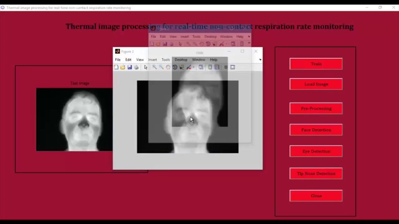 Thermal image processing matlab projects