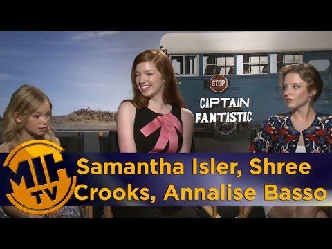 Samantha Isler, Annalise Basso and Shree Crooks - Captain Fantastic