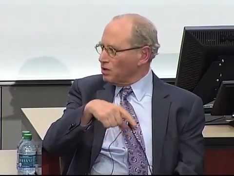 Richard Sandor speaks at the University of Minnesota's Heller-Hurwicz  Economics Institute