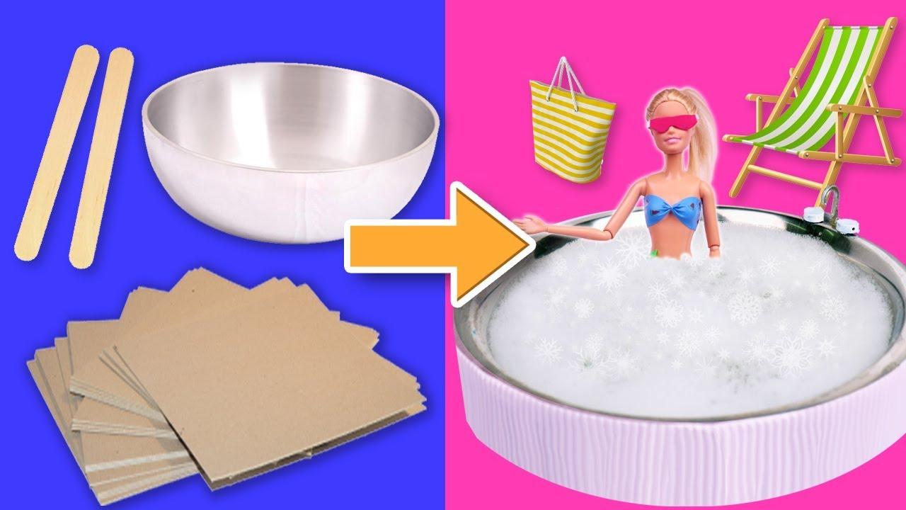 Para De Miniatura Accesorios Barbie Jacuzzi El MqGUVzpS