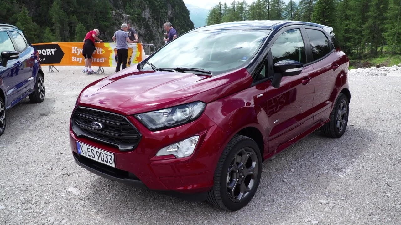 2019 ford ecosport st line awd suv driving experience. Black Bedroom Furniture Sets. Home Design Ideas