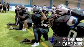 2020 Texas Elite Spartans Training Camp