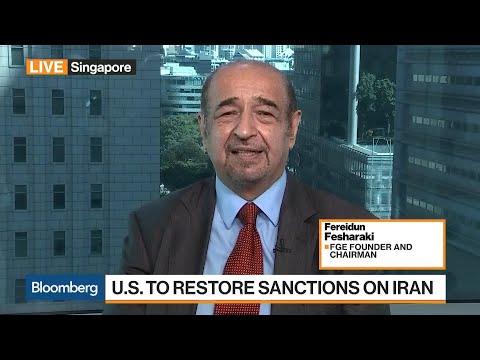 FGE's Fesharaki Sees 1.5 Million Barrels of Iran Oil Removed Per Day