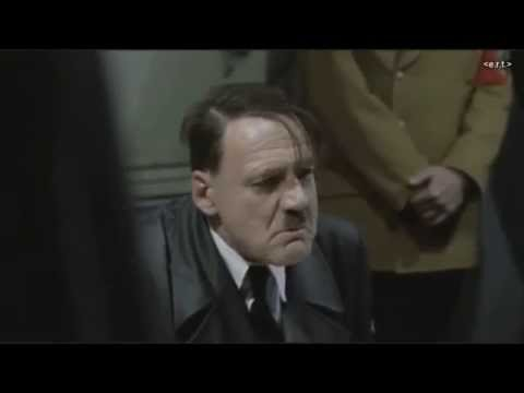 Hitler discovers that Günter Grass has died