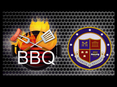 BBQ party in Alma mater