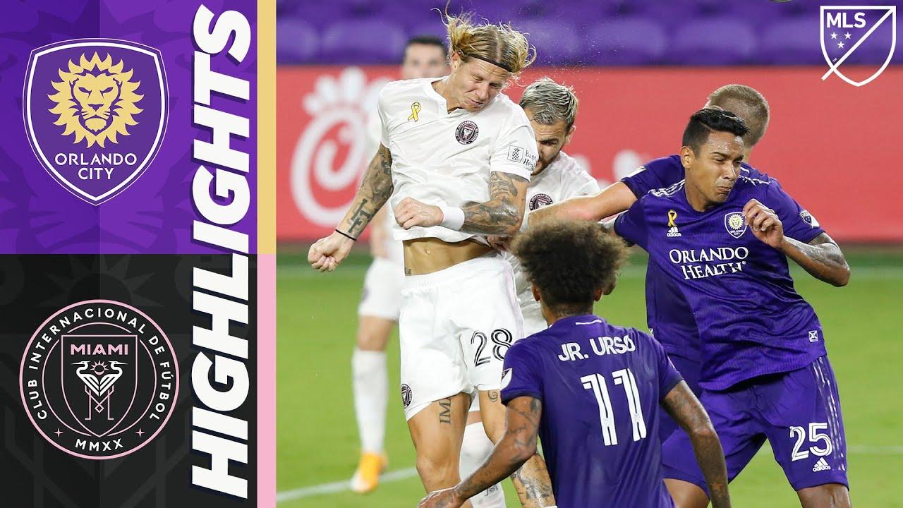 Orlando City SC vs. Inter Miami CF | September 12, 2020 | MLS Highlights