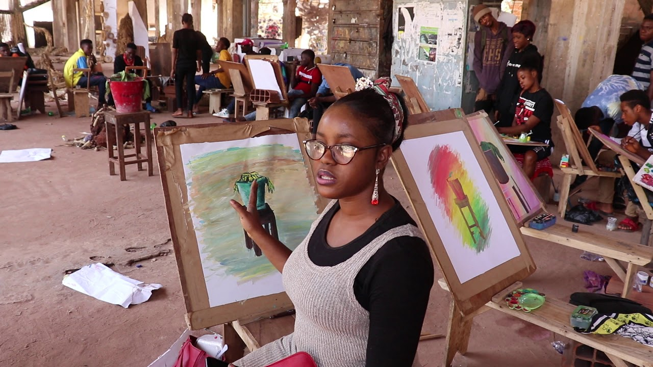 Unn Profiles Lovelyn Chioma Eke Fine And Applied Arts Youtube