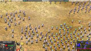 Empire Earth: Battle with 2500 soldiers